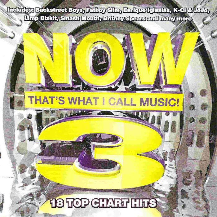 portada CD now that's what i call music 90s
