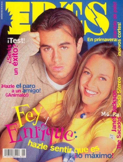 portada de revista Eres para jóvenes 90s