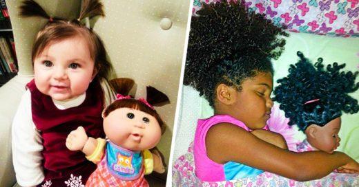 20 Bebés que lucen completamente IGUALES a sus muñecas de juguetes