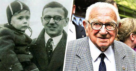 Nicholas Winton el HÉROE que salvó a 669 niños de morir en el Holocausto ha FALLECIDO