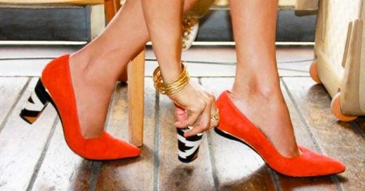 Una diseñadora INVENTÓ los zapatos perfectos: ¡Con tacones INTERCAMBIABLES!