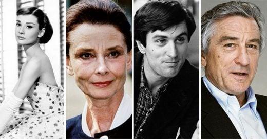 10 Celebridades que en su juventud fueron realmente ATRACTIVOS