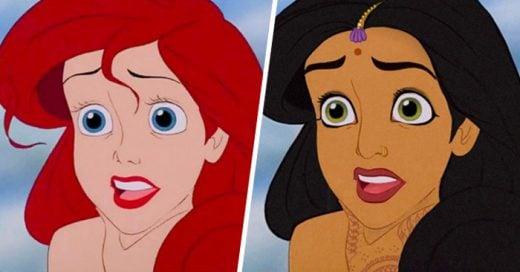 15 Princesas de Disney RECREADAS con diferentes etnias ¡Son hermosas!