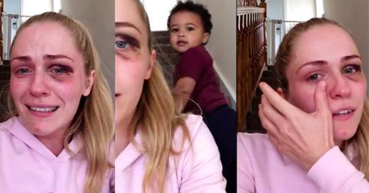 Esta mujer ha compartido su fuerte experiencia de VIOLENCIA doméstica y su video se hizo VIRAL