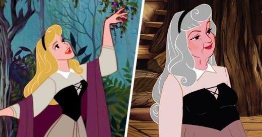 Así es como lucen las Princesas de DISNEY en su VEJEZ