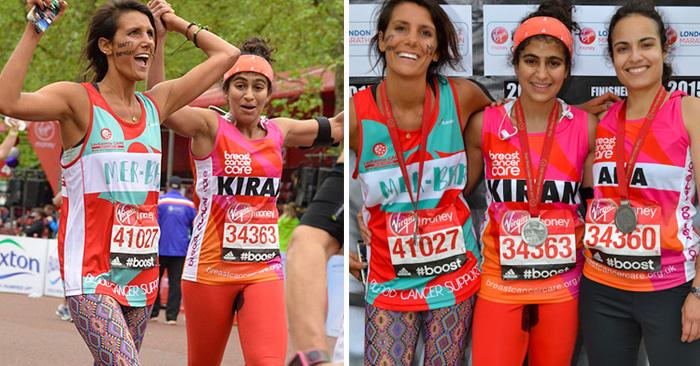 Esta mujer corrió el maratón de Londres sin un tampon para despertar conciencia acerca de...