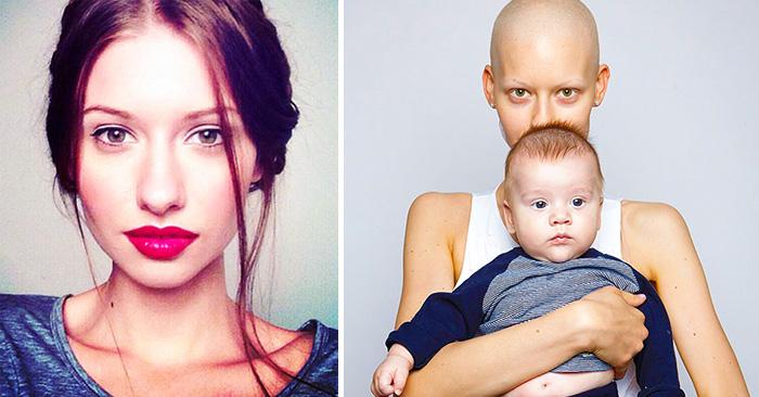 Los médicos le dijeron que ABORTARA tras perder el 95% de su mandíbula por el CÁNCER, ella respondió así