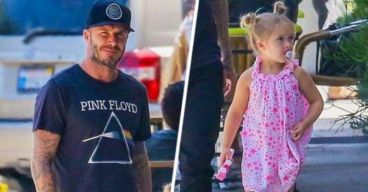 David Beckham fue JUZGADO por consentir a su hija de cuatro años, el RESPONDIÓ así