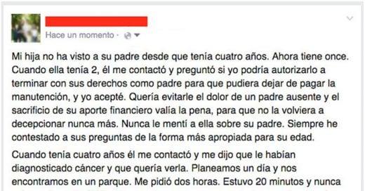 Una MADRE escribió esta increíble publicación en Facebook sobre lo que aprendió del PERDÓN