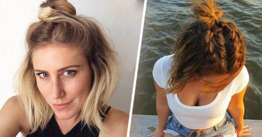 El 'half-bun' es la NUEVA tendencia que las chicas están popularizando en Internet