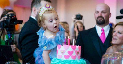 Los padres de esta niña sabían que podía ser su ÚLTIMO cumpleaños, así que hicieron algo ESPECIAL