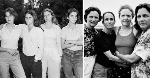 Estas hermanas han posado en 40 fotos DURANTE 40 años