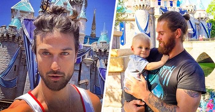 'Hombres con BUN en Disneyland' se están apoderando de Instagram y es realmente MÁGICO