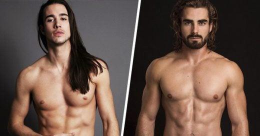 25 Hombres con cabello LARGO que lucen extremadamente SEXYS