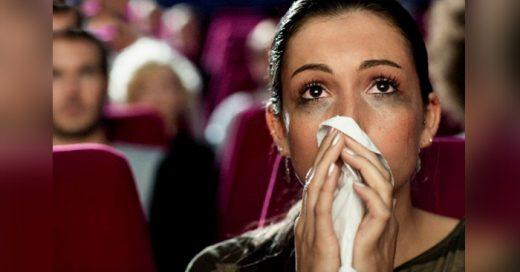 Las personas que lloran durante una película no son débiles, son emocionalmente fuertes