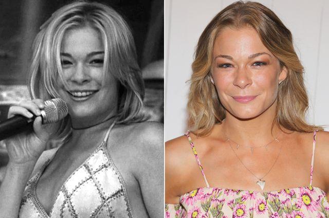 Comparación de la actriz que interpretó a una cantante en la película Coyote Ugly