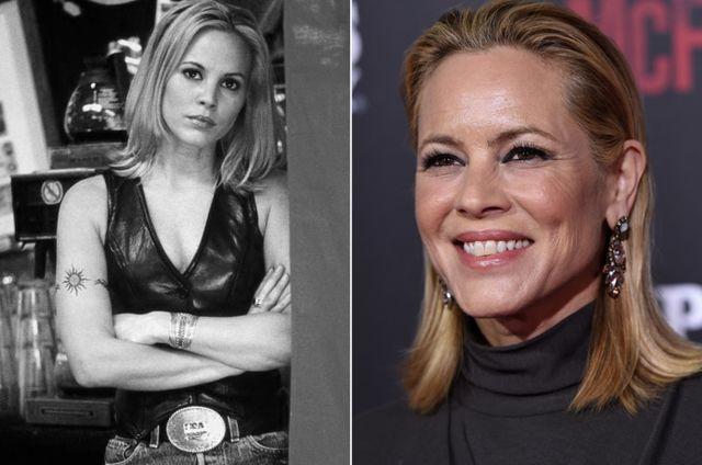 Comparación de la actriz que interpretó a Lil la dueña del bar en la película Coyote Ugly