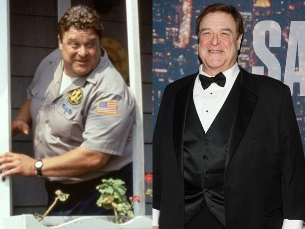 Comparación de John Goodman, padre de Violet en Coyote Ugly