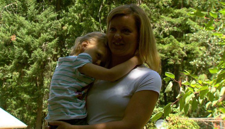 Lila y su mamá