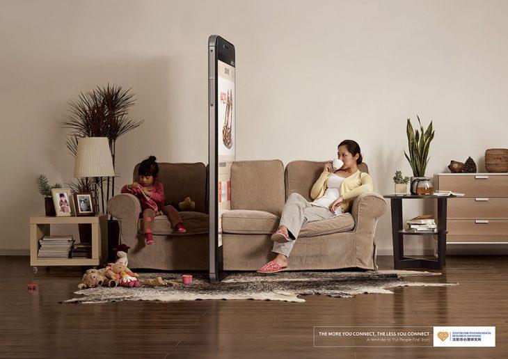"Campaña ""Phone Wall"""