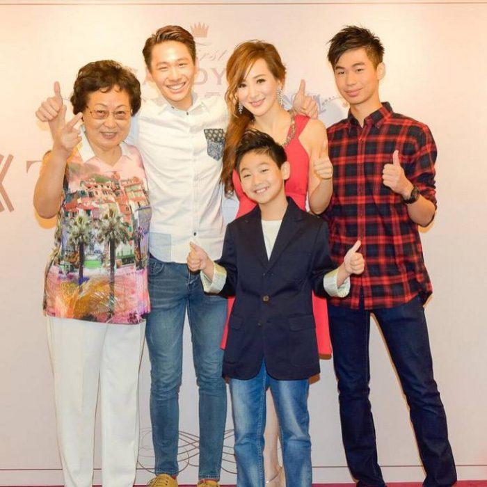 Candy Lo y su familia