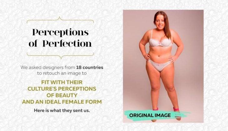 Anuncio para Photoshopear a una mujer
