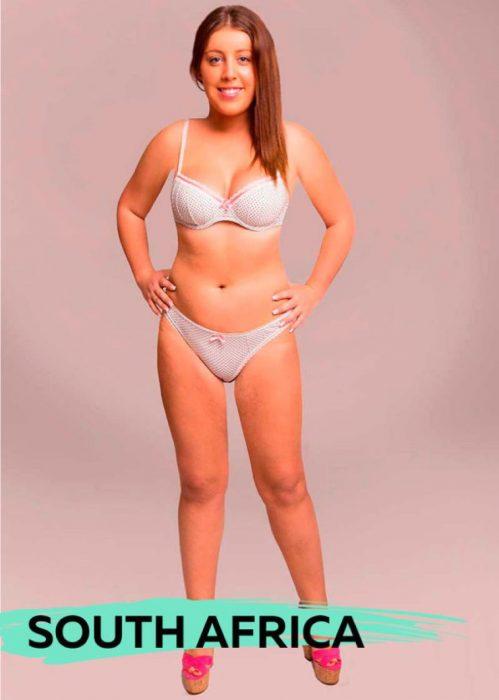 Mujer photoshopeada en Sudáfrica