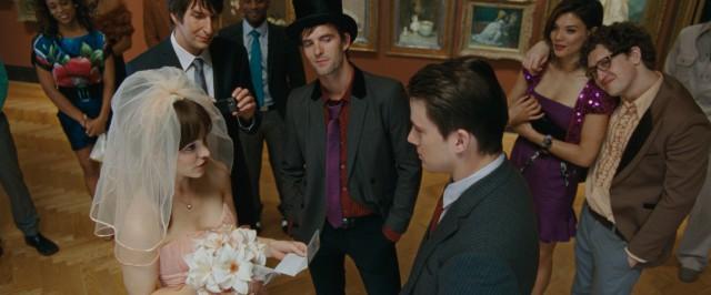 Escena de la película votos de amor boda