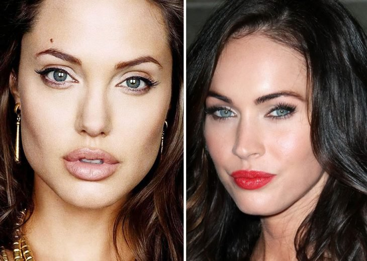 Megan fox y Angelina Jolie