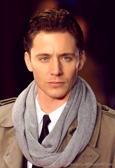 artista combina rostros de Jensen Ackles y Tom Hiddleston