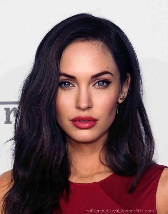 Artista combina rostro de Angelina Jolie y Megan Fox