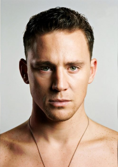 artista combina rostros de Tom Hiddleston y Channing Tatum
