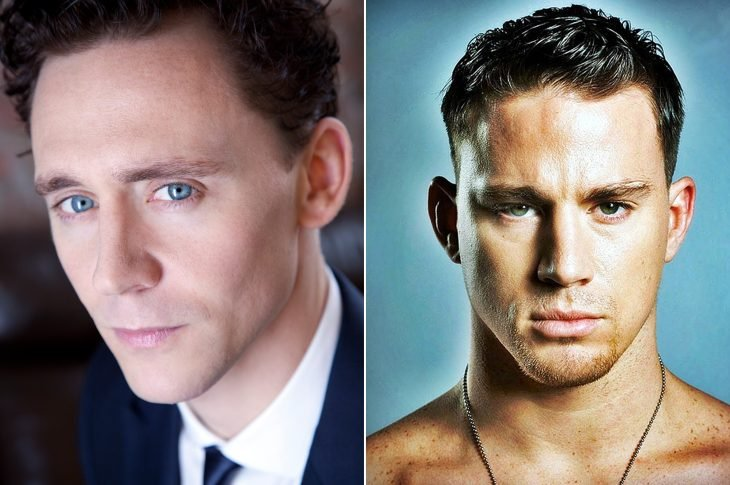 Tom Hiddleston y Channing Tatum