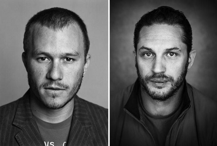 Heath Ledger y Tom Hardy