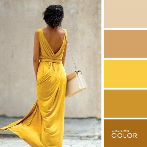 23 ideas de como debes combinar tu ropa para lucir perfecta - Color ocre para paredes ...