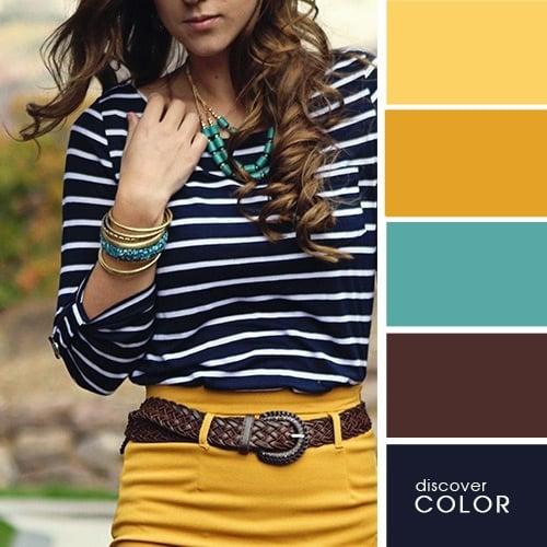 23 ideas de como debes combinar tu ropa para lucir perfecta - Colores que combinan con el marron ...