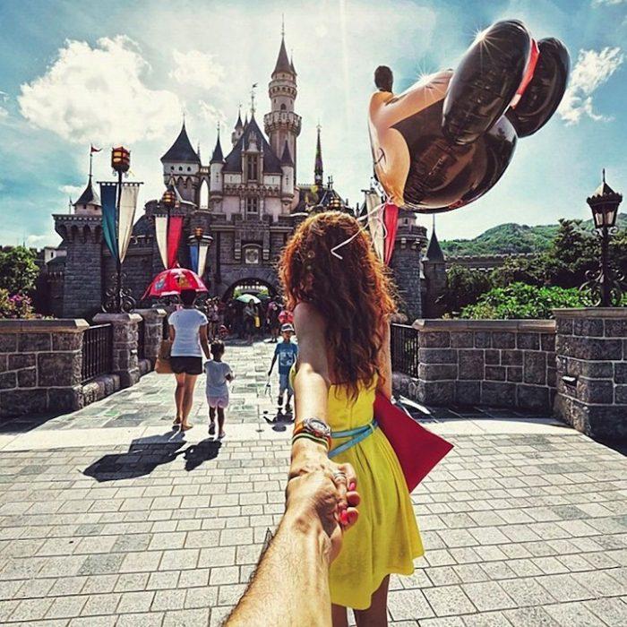 Quiero caminar delante de ti para que me veas