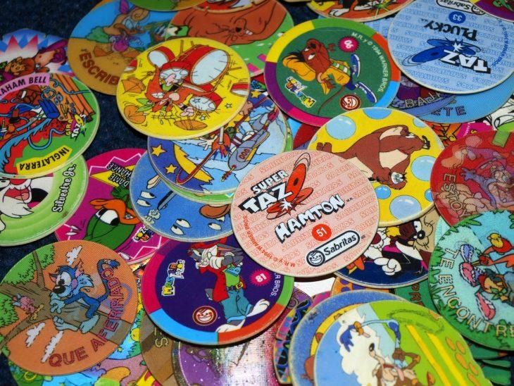 Colección de tazos de los looney tones