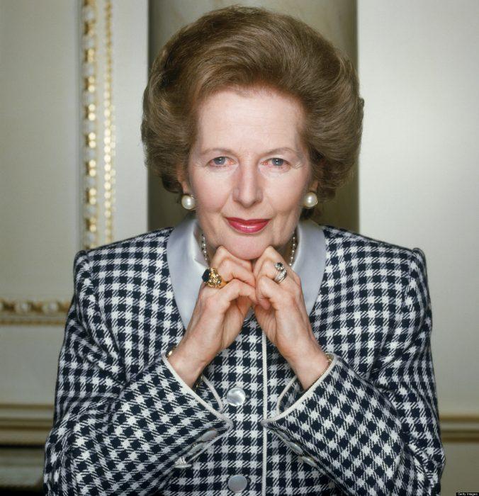 Margaret Thatcher primera ministro británica