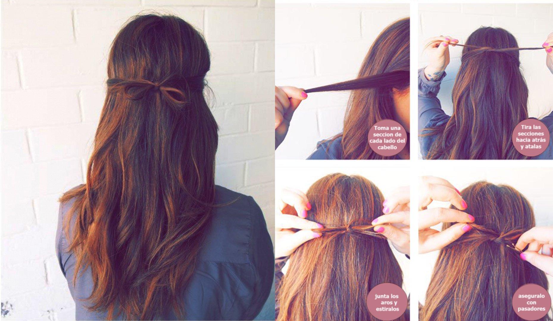 19 Peinados Faciles Y Rapidos Que Puedes Hacer En Minutos