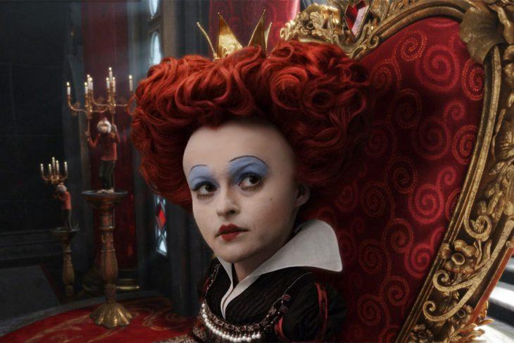Personaje de alicia en el pais de las maravillas reina roja