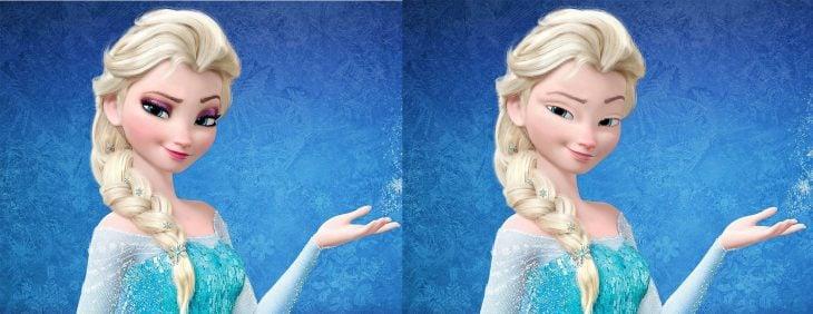 Así es como lucen las Princesas de Disney sin maquillaje