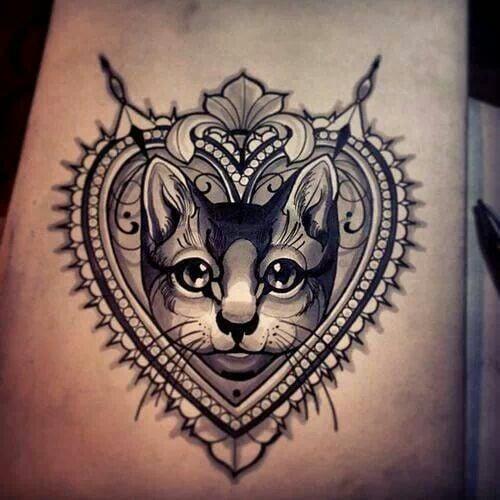 30 Tatuajes De Gatos Que Todo Amante De Los Felinos Amara