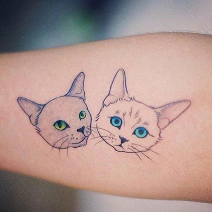 30 Tatuajes De Gatos Que Todo Amante De Los Felinos Amará