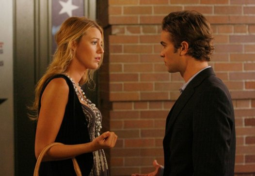Escena de la serie gossip girls serena discutiendo con su novio