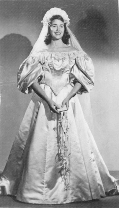 Virginia Woodruff tercera novia vestido 120 años