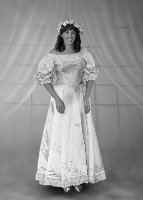 Ann Ogden décima novia vestido 120 años