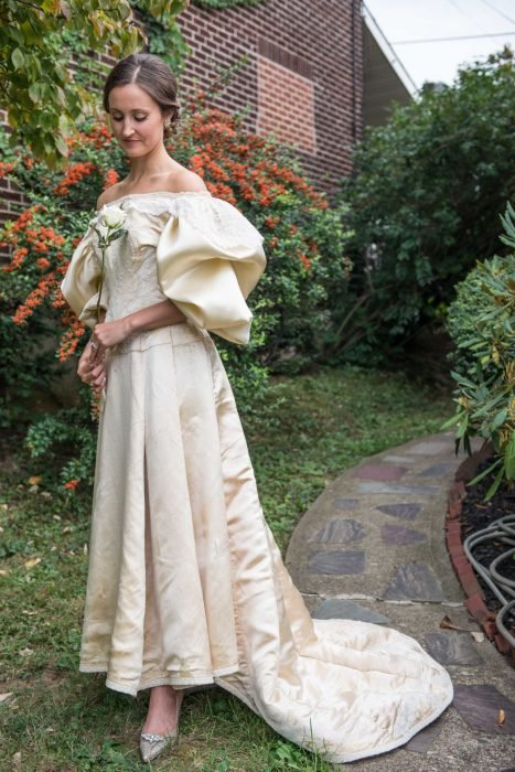 Abigail Kingston vestido 120 años
