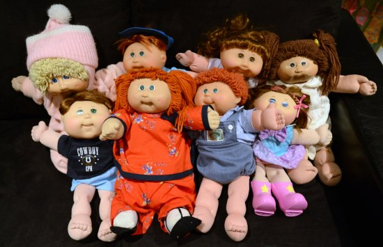 muñecas cabbage patch