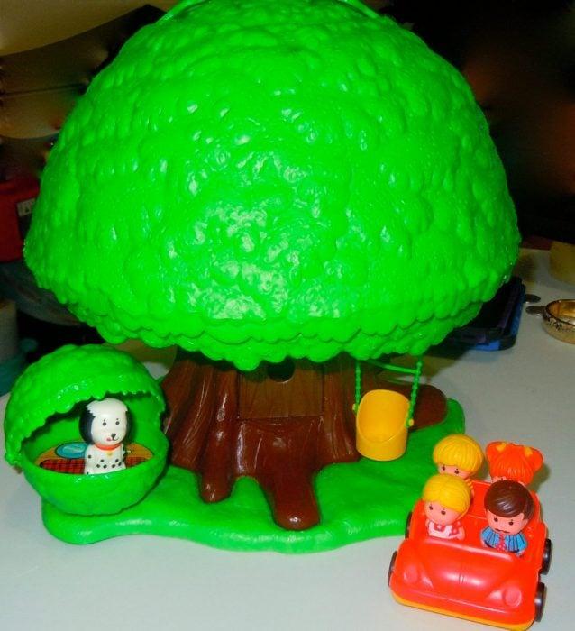 casita del árbol 80s